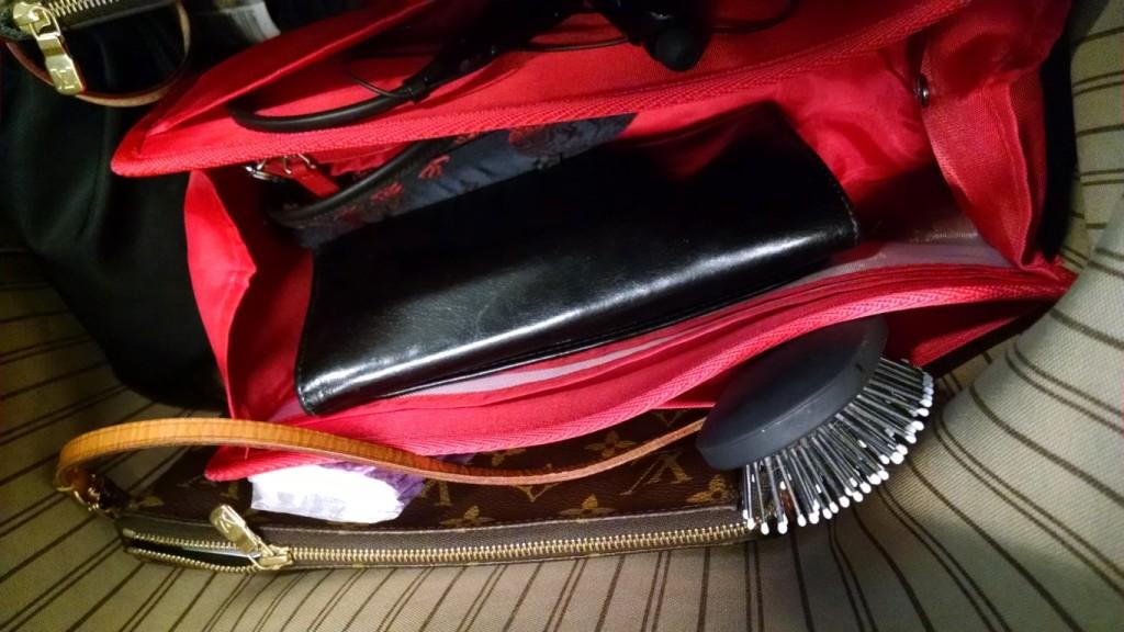 purse organizer insert for louis vuitton neverfull mm  photo