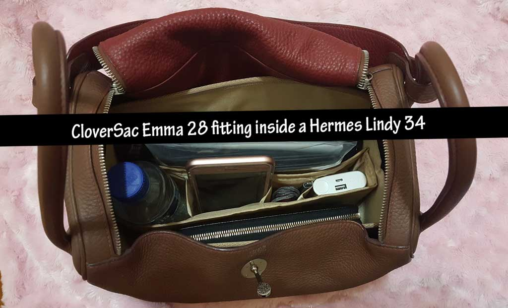 hermes knockoff handbags - Purse Organizer Insert for Hermes Lindy 34 | CloverSac
