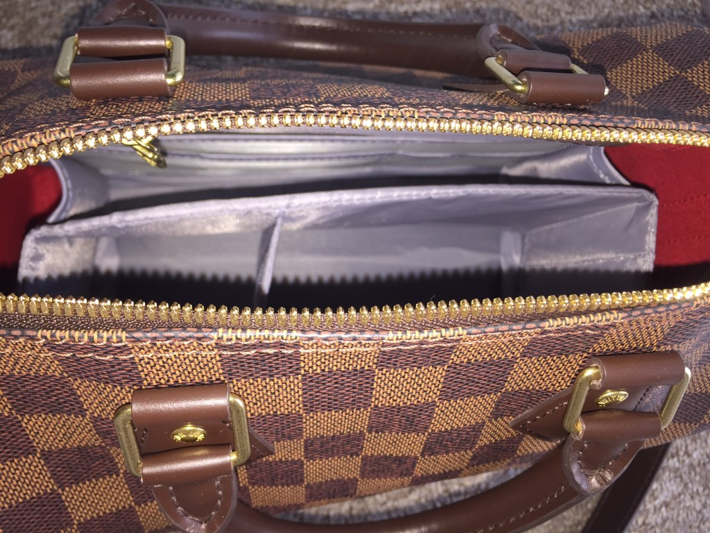 Purse Organizer and Base shaper for Louis Vuitton Speedy 25-3